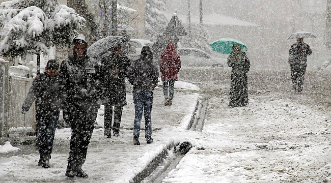 Meteoroloji uyardı!.. Kar geliyor