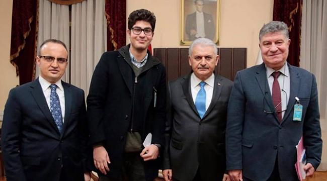 Ayvacık Belediye Başkanından Başbakan'a ziyaret