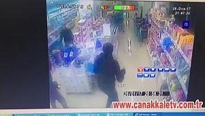 Market Soygunu Güvenlik Kamerasında!