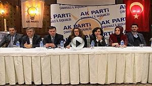 AK Parti Çanakkale İl Yönetim Kurulu 1.Yıl İstişare ve Değerlendirme Toplantısı Gerçekleştirildi