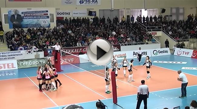Çanakkale Belediyespor: 2- Fenerbahçe:3