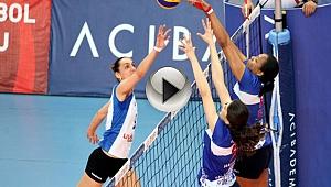 Çanakkale Belediyespor-Bursa Büyükşehir Belediyespor: 0-3