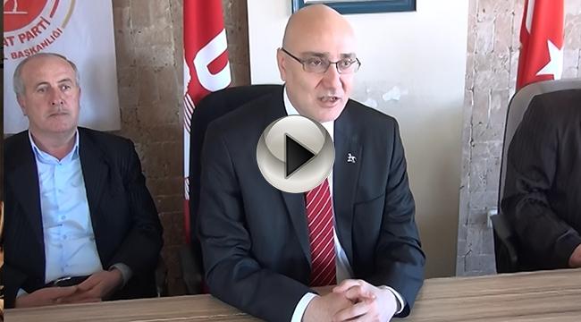 Demokrat Parti Genel Başkan Adayı Çınar Özden Çanakkale'de...