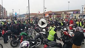 Motosikletliler Şehitleri Anmak İçin Çanakkale'ye Akın Ettiler...
