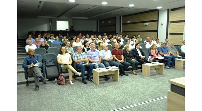 Biga'da TANAP hibe toplantısı