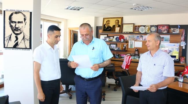Kepez Belediyesi Zabıta Müdürlüğü'ne Yeni Atama...