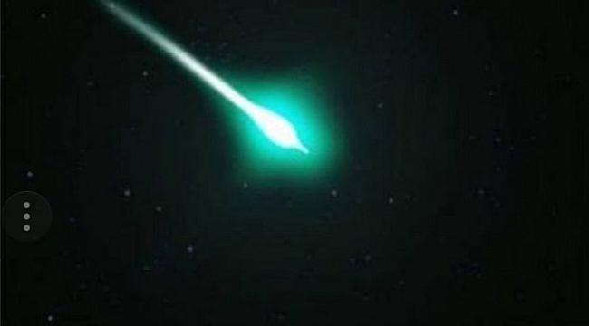 Çanakkale'de, Gökyüzünde Görülen Işık Heyecan Yarattı!!!