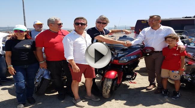 Başkan Sami Yavaş Goldwing Club Türkiye Üyelerini Festival Alanında Ziyaret Etti...