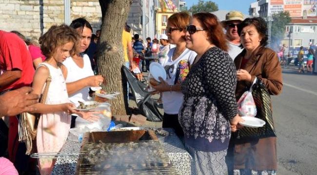 Sardalya Festivali'nde 3 Ton Sardalya Dağıtıldı...