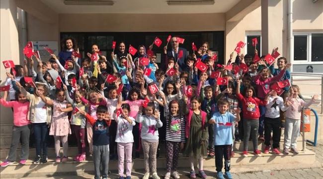 Çan Cumhuriyet İlkokulu´ndan Eğitime Destek Projesi