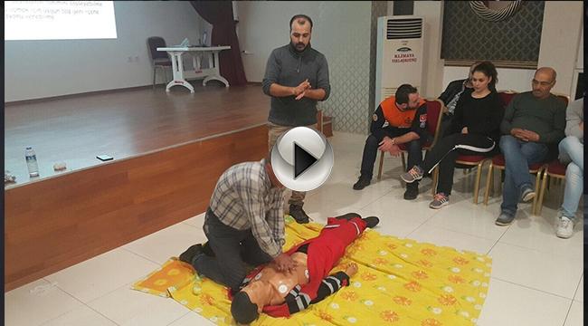 Bayramiç'te Gönüllü Acil Kurtarma Ekibi Kuruldu