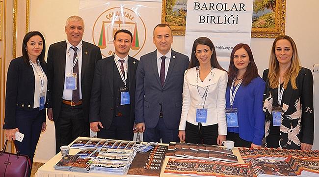 Çanakkale Barosu Mardin'de Çanakkale'yi tanıttı