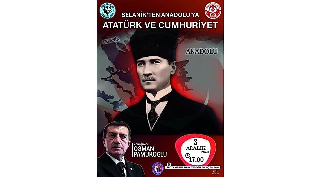 Osman Pamukoğlu Çanakkalelilerle buluşacak.