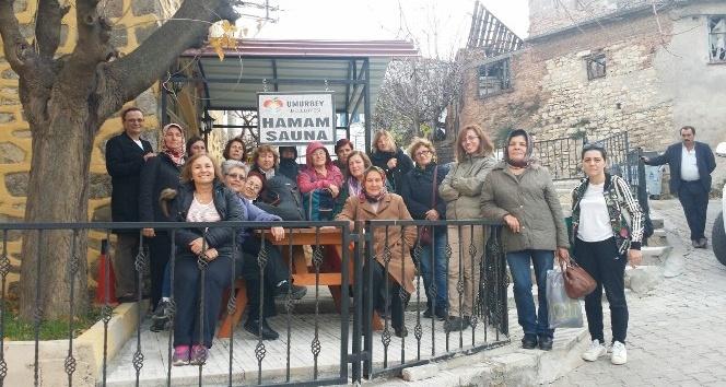 Çanakkaleli kadınlar Umurbey hamamına yoğun ilgi gösteriyor