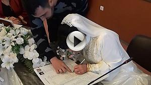 Görme Engelli Çift Dünya Evine Girdi