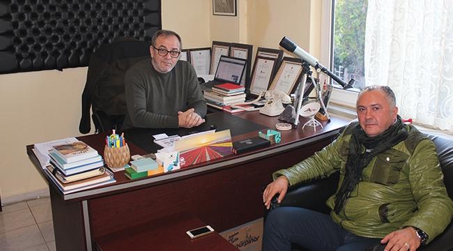 Kandemir'den Çanakkale TV'ye Ziyaret