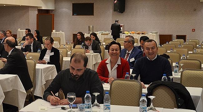 Türkiye Geneli Baro Saymanları Toplantısı Gaziantep'te yapıldı.