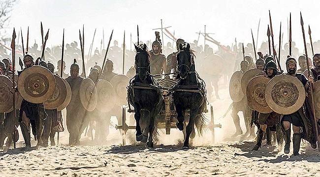 8 Bölümlük Troy dizisi çekimleri tamamlandı