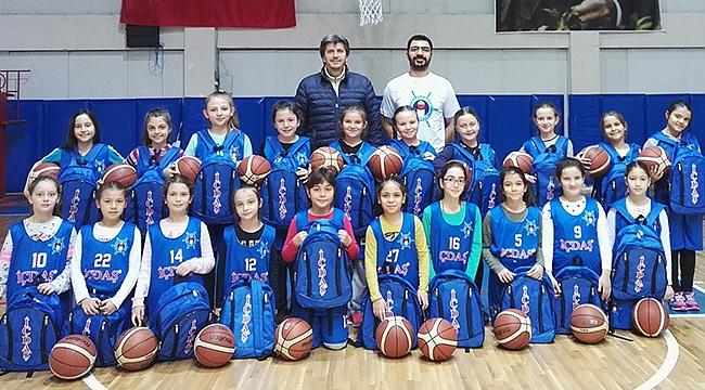 İÇDAŞ Spor'dan kız çocuklarımız için basketbol hamlesi