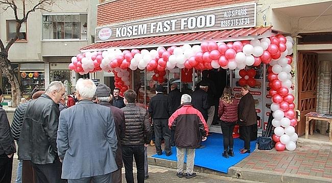Köşem Fast Food Açıldı