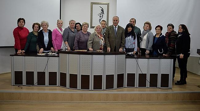 Mitrovicha Türk Kadın Dostluk Derneği'nden Başkan Gökhan'a Ziyaret…