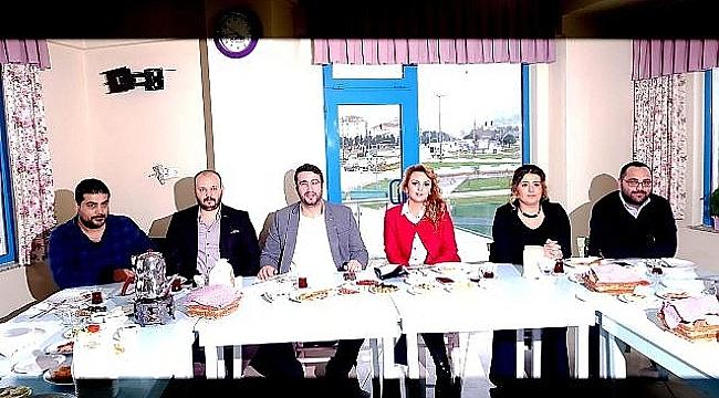 Osman Öztürk ve Ekibi Biga ADD'ye Aday