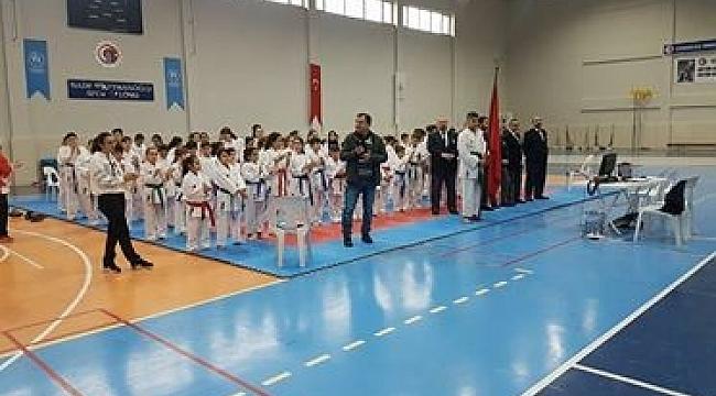 Çanakkale'de okullar arası Karate İl Şampiyonası ve Anadolu Yıldızları Ligi seçmeleri