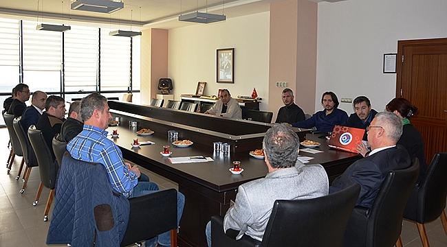 ÇTSO Yönetim Kurulu 13 No'lu Meslek Grubu Üyeleriyle Bir Araya Geldi