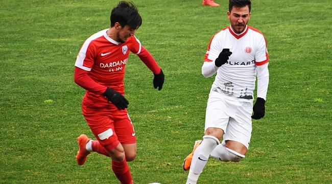 TFF 3. Lig: Çanakkale Dardanel SK: 2 - Bergama Belediyespor: 0