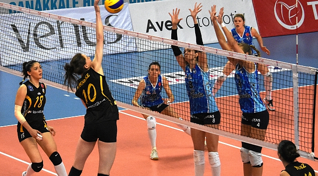 Vestel Venüs Sultanlar Ligi: Çanakkale Belediyespor: 1 - Vakıfbank: 3