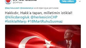 Çanakkale Belediyesinin Sosyal Medyadan Başlattığı İstiklal Marşı Kampanyasına Sosyal Medyadan Büyük Destek