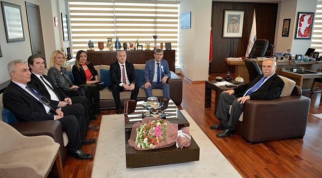 Çanakkale SMMMO Yönetiminden Başkan Gökhan'a Ziyaret