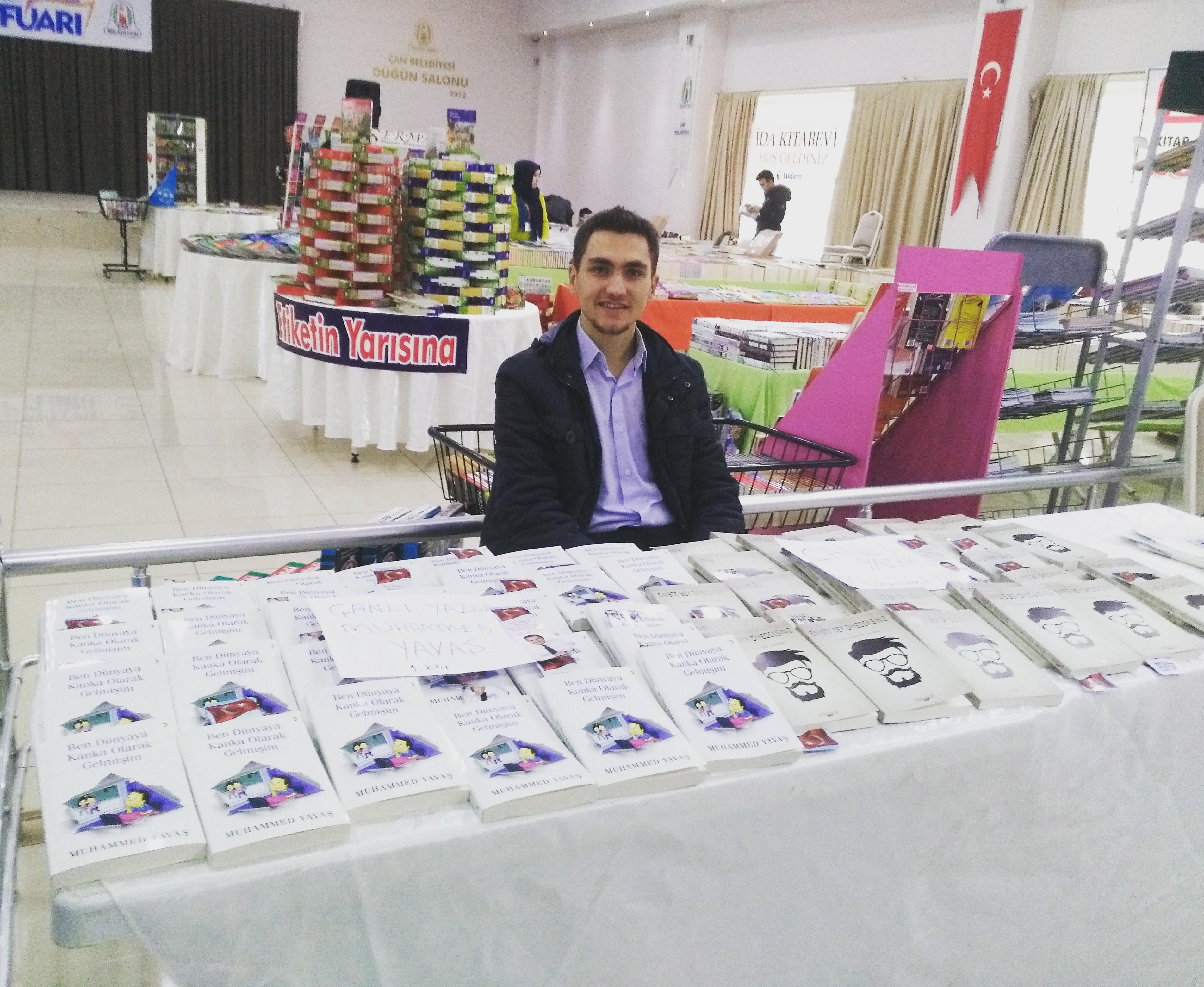 Çanlı yazar Muhammed Yavaş'ın ikinci kitabı çıktı.