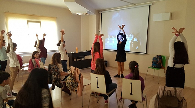 Çocuk Kültür Evi'nin Mart Ayı Konuğu Esra Yurttut Oldu