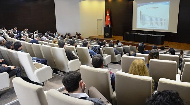 ÇTSO Yapı İşyerlerinde İşçi Sağlığı Ve İş Güvenliği Bilgilendirme Semineri Düzenledi