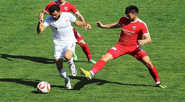 TFF 3. Lig: Çanakkale Dardanel SK: 0 - Çatalcaspor: 1