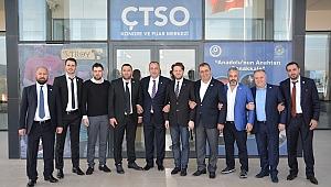 Çanakkale Ticaret ve Sanayi Odası Yönetim Kurulu, TOBB Delegeleri Disiplin Kurulu Üyeleri Belirlendi