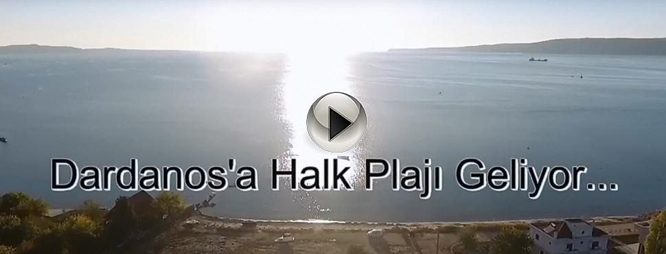 Dardanos'a Halk Plajı Geliyor