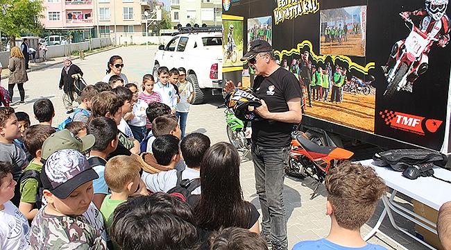 Güvenli Motosiklet Eğitimi Çanakkale ayağı başladı