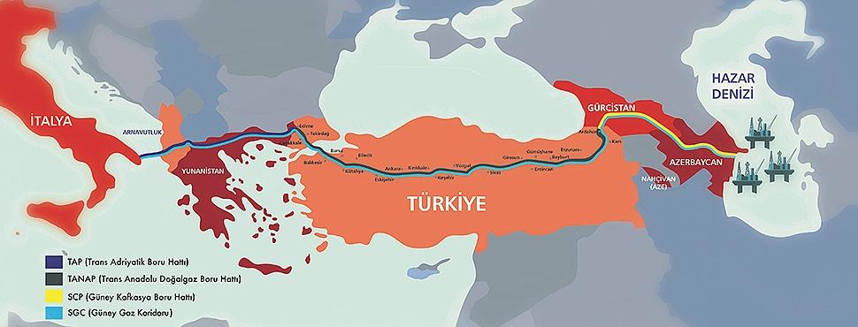 TANAP projesinin tanıtımı yapıldı. Doğalgaz boru hattı Çanakkale'den de geçecek...