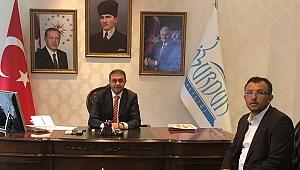 Başkan Yavaş'tan Burdur Valisi Şıldak'a ziyaret