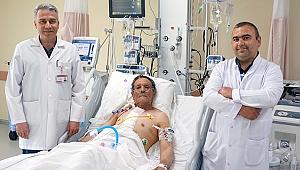 Çanakkale 18 Mart Üniversitesi Araştırma Hastanesinde Bentall Ameliyatı Yapıldı.