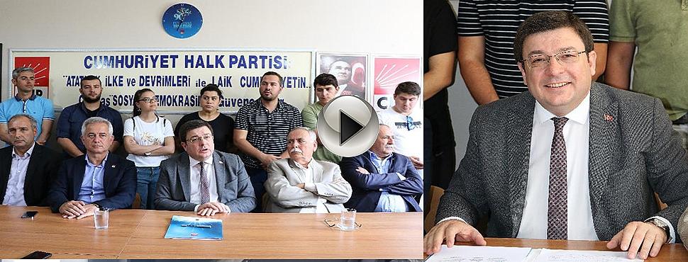"""CHP Genel Başkan Yardımcısı Erkek: """"Dolar 10 lira olmadan 24 Haziran'da tamam demek zorundayız"""""""