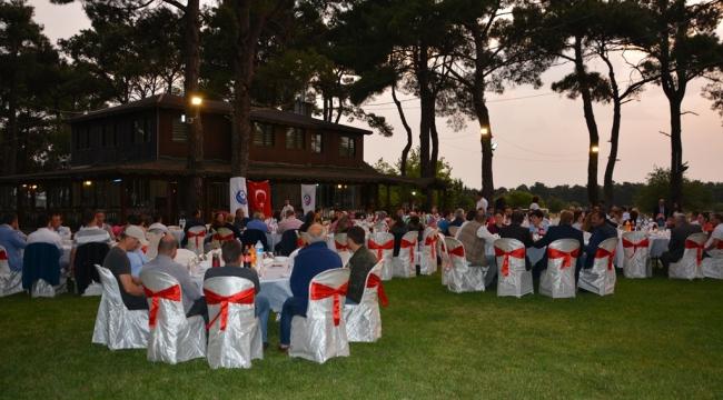 ÇTSO Bayramiç'te Düzenlenen İftar Yemeğinde Üyeleriyle Buluştu