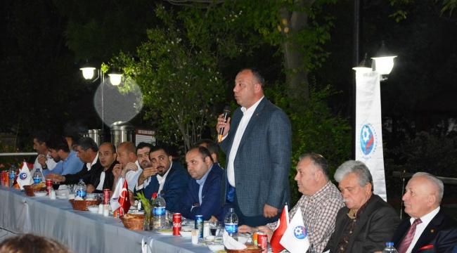 ÇTSO, Çan'da Düzenlenen İftar Yemeğinde Üyeleriyle Bir Araya Geldi