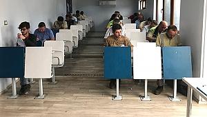Çtso makine bakımcı sınavları düzenledi