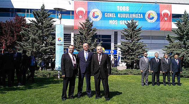 Hisarcıklıoğlu, 5'nci kez TOBB Başkanı seçildi.