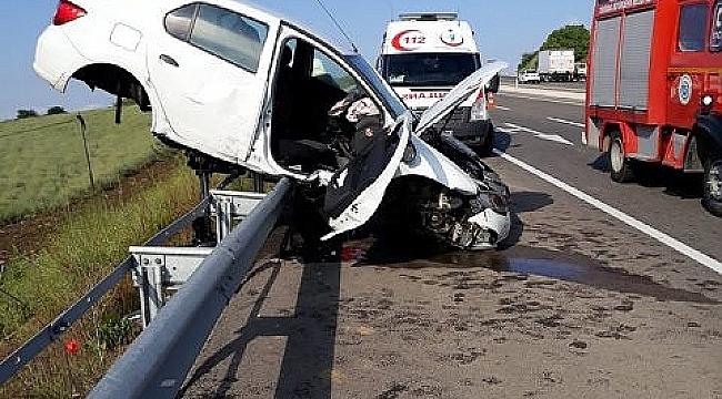 Milli antrenör kaza yaptı, eşi ağır yaralı