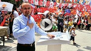 """AK Parti'li Turan: """"Hiç kimsenin sandık güvenliğine sandığın şeffaf demokratik yapısına söz söyleme hakkı olmaz"""
