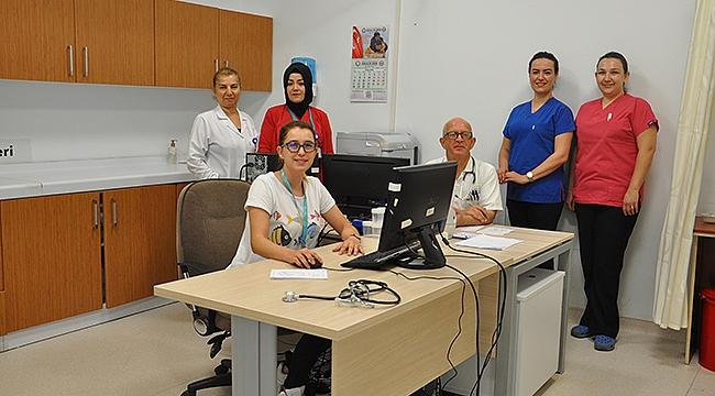 Çanakkale Mehmet Akif Ersoy Devlet Hastanesinde yeşil alan uygulaması başladı